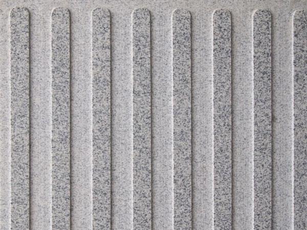 603芝麻白小花盲道板